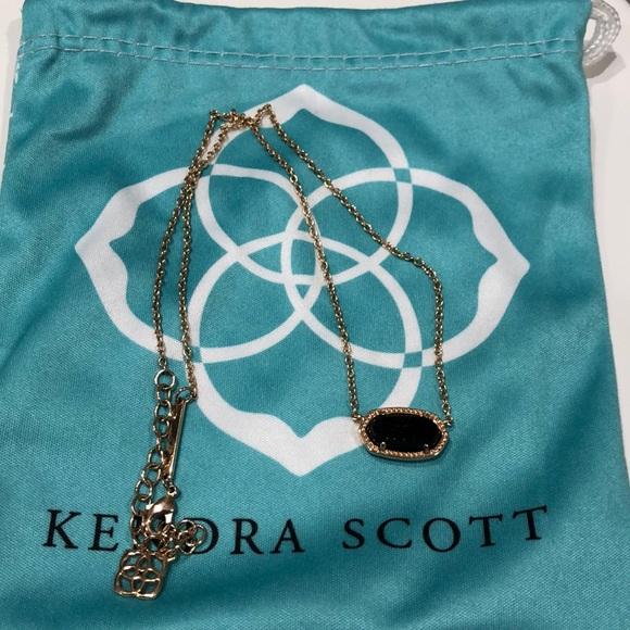Kendra Scott Jewelry - 🆕NIB Kendra Scott Rose Gold Black Drusy